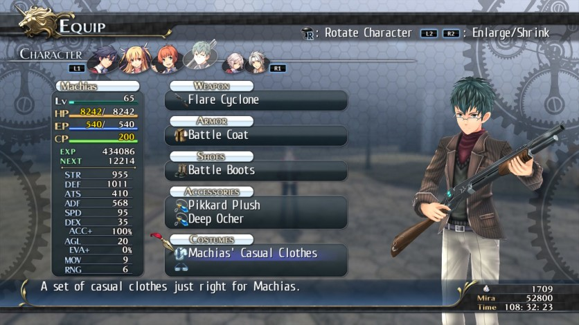 Screenshot 6 - The Legend of Heroes: Trails of Cold Steel - Class VII Casuals Set