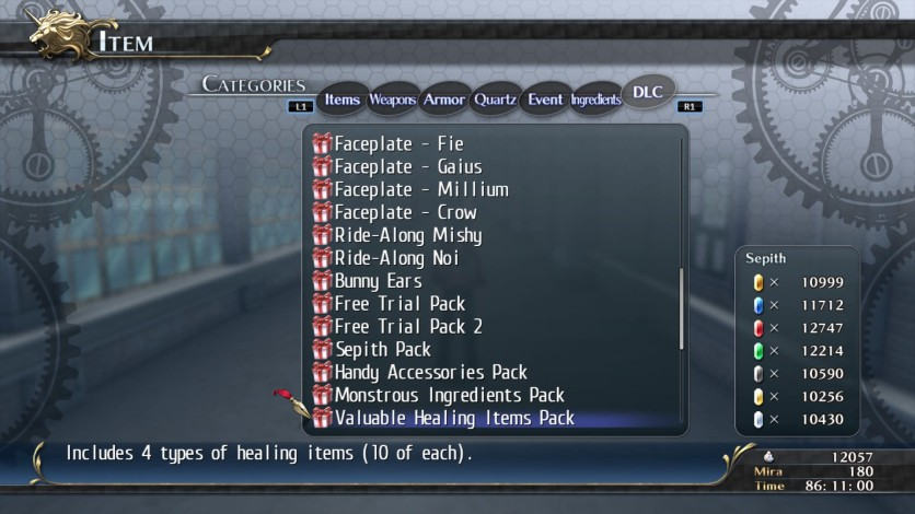 Screenshot 4 - The Legend of Heroes: Trails of Cold Steel - Special Items