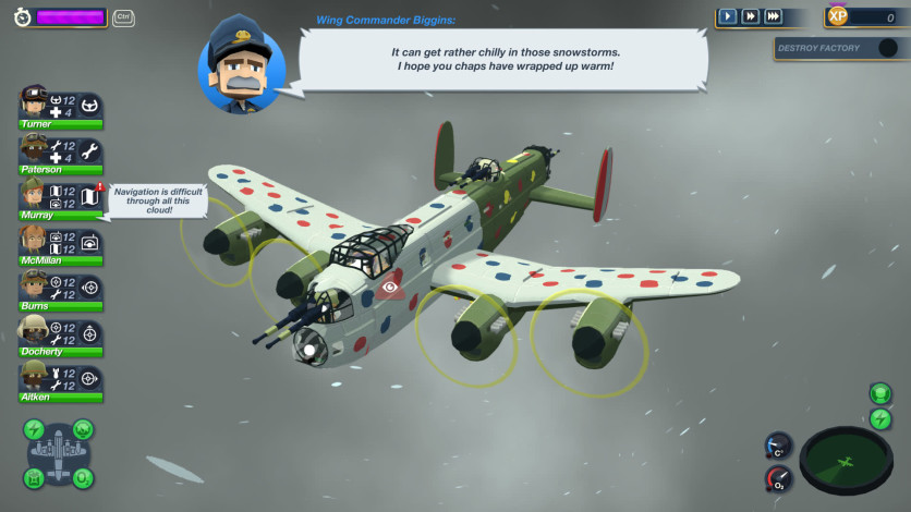 Screenshot 1 - Bomber Crew Secret Weapons DLC