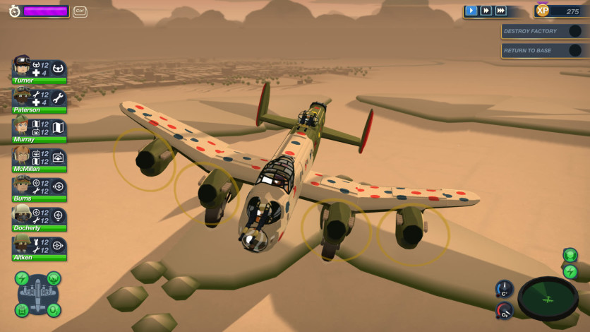 Screenshot 2 - Bomber Crew Secret Weapons DLC
