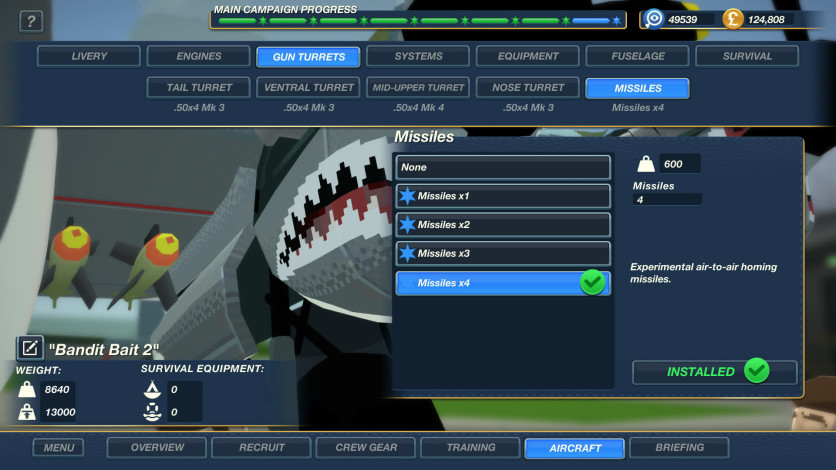 Screenshot 4 - Bomber Crew Secret Weapons DLC