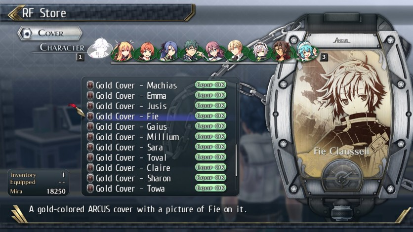 Screenshot 5 - The Legend of Heroes: Trails of Cold Steel II - All Arcus Covers