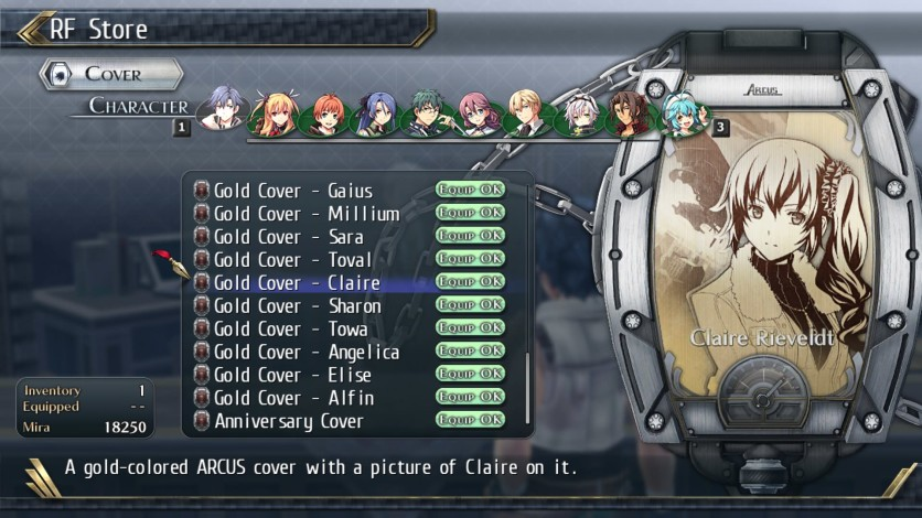 Screenshot 8 - The Legend of Heroes: Trails of Cold Steel II - All Arcus Covers