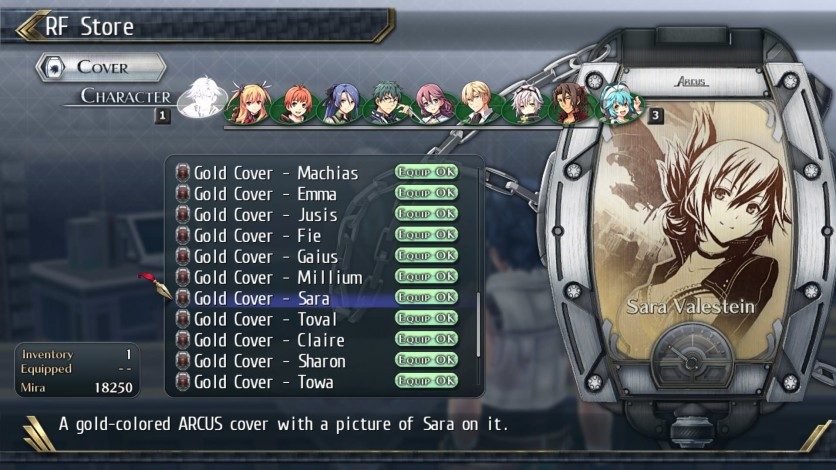 Screenshot 6 - The Legend of Heroes: Trails of Cold Steel II - All Arcus Covers