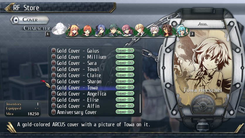 Screenshot 14 - The Legend of Heroes: Trails of Cold Steel II - All Arcus Covers