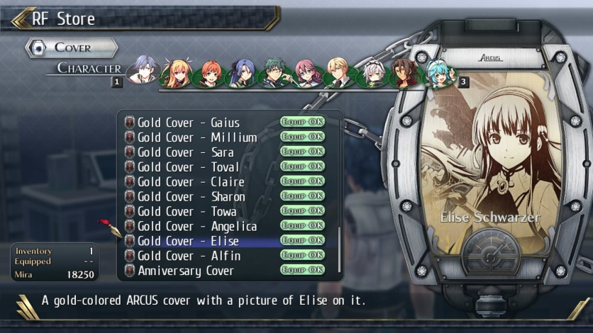 Screenshot 16 - The Legend of Heroes: Trails of Cold Steel II - All Arcus Covers