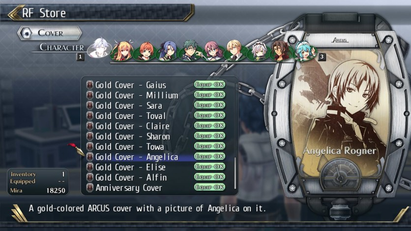 Screenshot 15 - The Legend of Heroes: Trails of Cold Steel II - All Arcus Covers