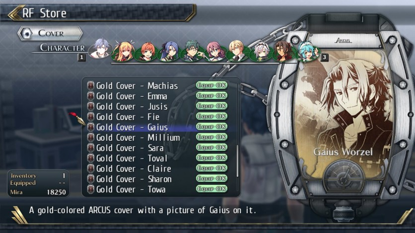Screenshot 7 - The Legend of Heroes: Trails of Cold Steel II - All Arcus Covers