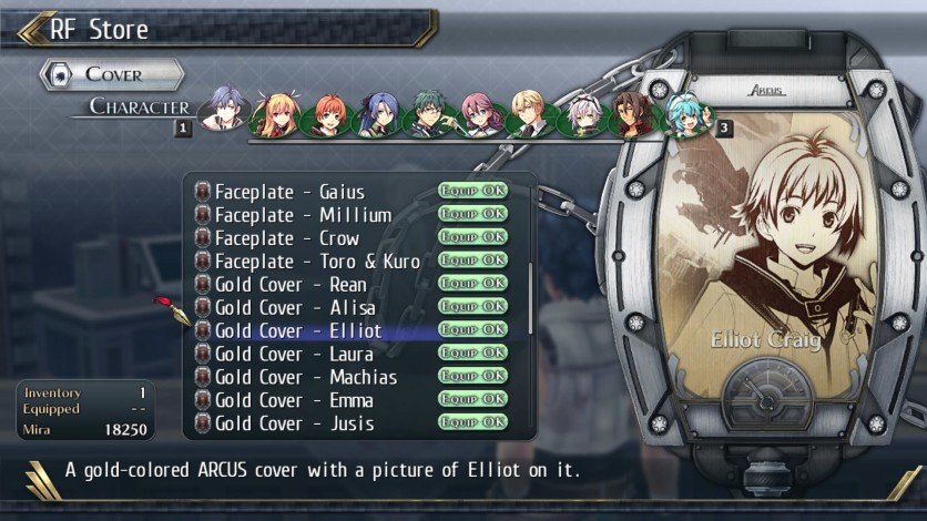 Screenshot 3 - The Legend of Heroes: Trails of Cold Steel II - All Arcus Covers