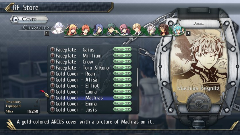 Screenshot 10 - The Legend of Heroes: Trails of Cold Steel II - All Arcus Covers