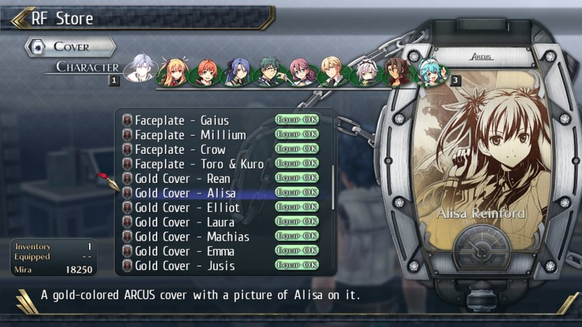 Screenshot 11 - The Legend of Heroes: Trails of Cold Steel II - All Arcus Covers