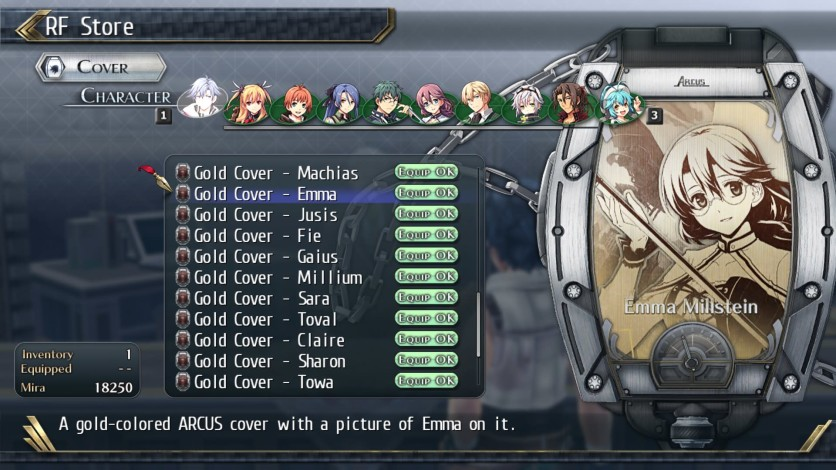 Screenshot 9 - The Legend of Heroes: Trails of Cold Steel II - All Arcus Covers