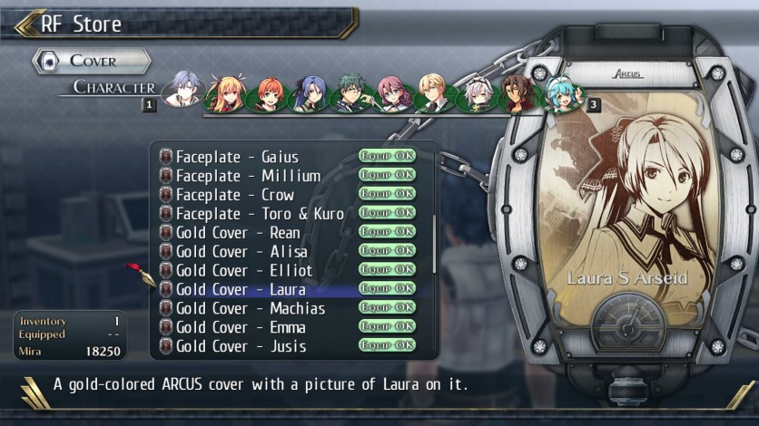 Screenshot 4 - The Legend of Heroes: Trails of Cold Steel II - All Arcus Covers