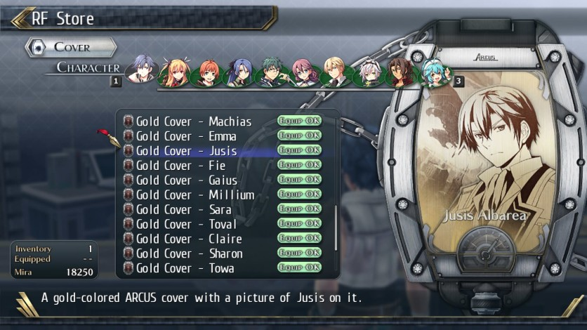 Screenshot 2 - The Legend of Heroes: Trails of Cold Steel II - All Arcus Covers