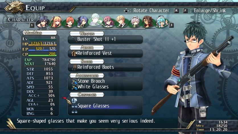 Screenshot 9 - The Legend of Heroes: Trails of Cold Steel II - All Glasses
