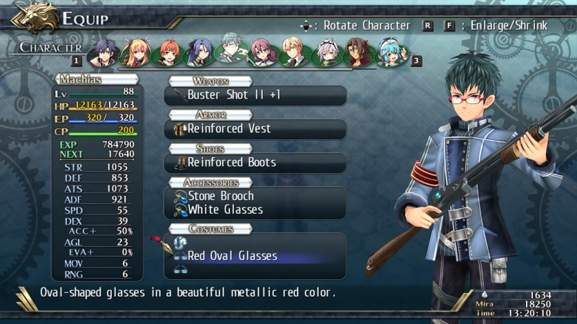Screenshot 2 - The Legend of Heroes: Trails of Cold Steel II - All Glasses