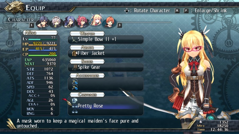 Screenshot 5 - The Legend of Heroes: Trails of Cold Steel II - Unspeakable Costumes