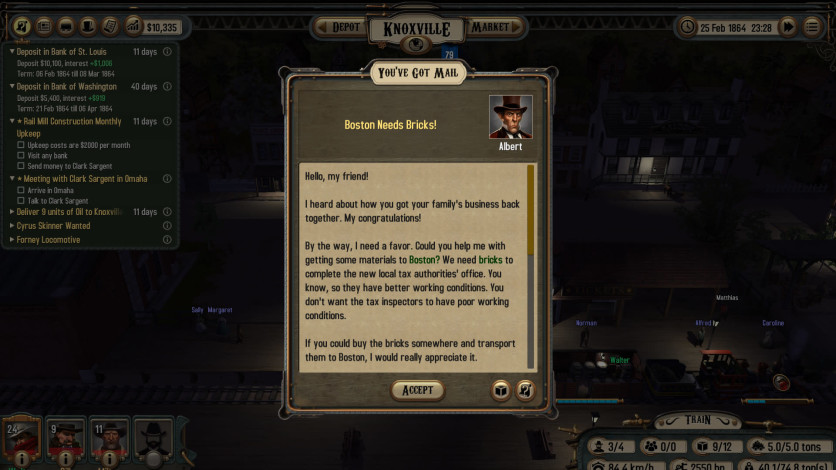 Screenshot 1 - Bounty Train - New West