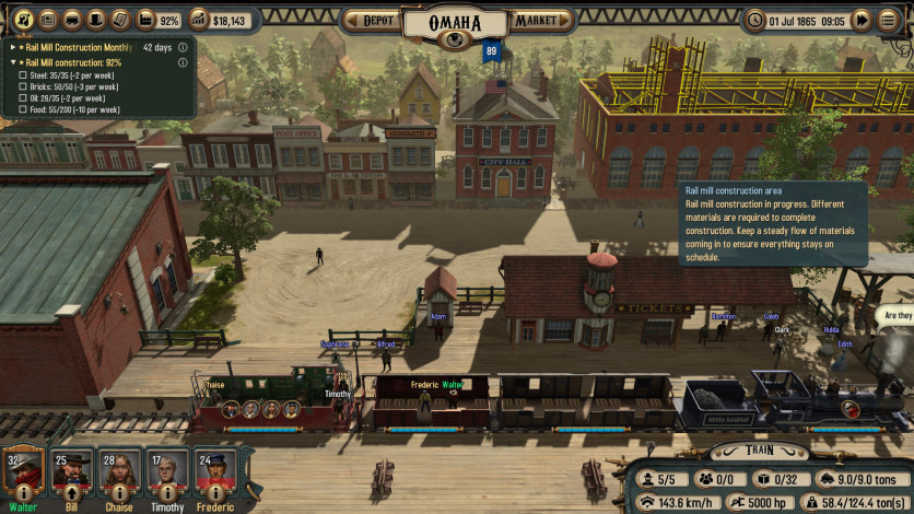 Screenshot 4 - Bounty Train - New West