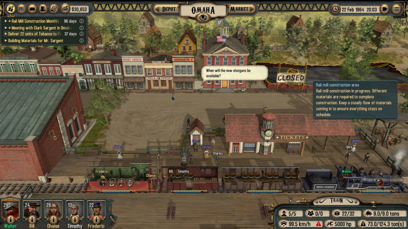 Screenshot 3 - Bounty Train - New West