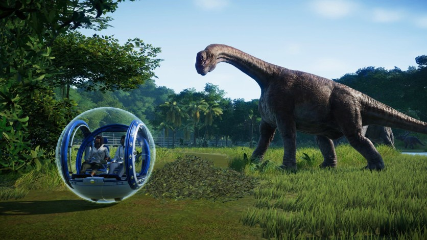 Screenshot 2 - Jurassic World Evolution - Deluxe Edition