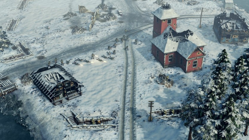 Screenshot 4 - Sudden Strike 4 - Finland: Winter Storm