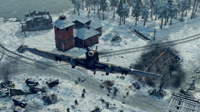 Screenshot 5 - Sudden Strike 4 - Finland: Winter Storm