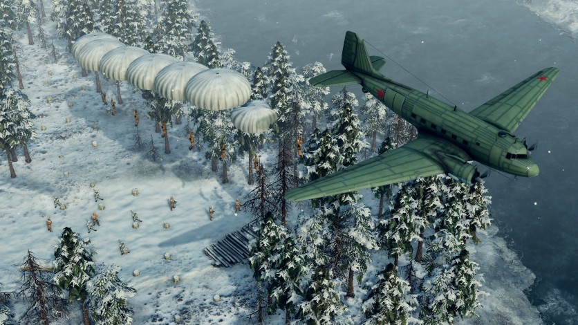 Screenshot 6 - Sudden Strike 4 - Finland: Winter Storm
