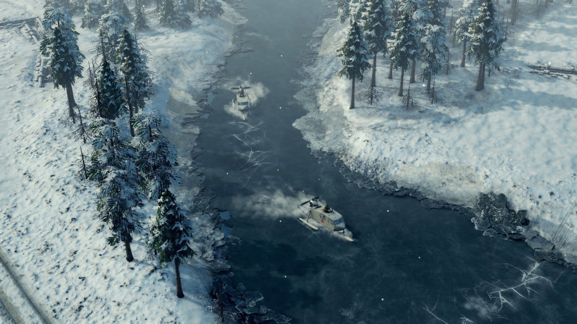 Screenshot 1 - Sudden Strike 4 - Finland: Winter Storm