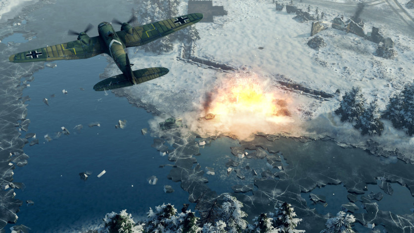 Screenshot 7 - Sudden Strike 4 - Finland: Winter Storm
