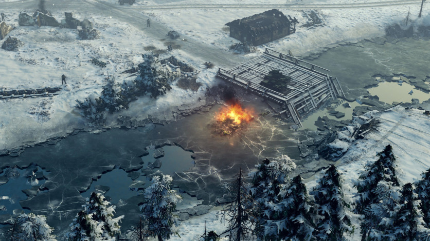 Screenshot 10 - Sudden Strike 4 - Finland: Winter Storm