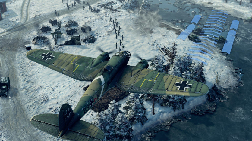 Screenshot 3 - Sudden Strike 4 - Finland: Winter Storm