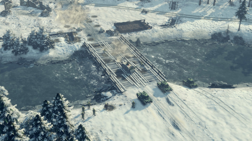 Screenshot 8 - Sudden Strike 4 - Finland: Winter Storm