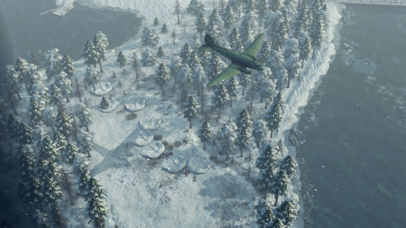 Screenshot 9 - Sudden Strike 4 - Finland: Winter Storm