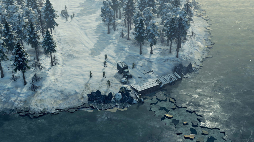 Screenshot 2 - Sudden Strike 4 - Finland: Winter Storm