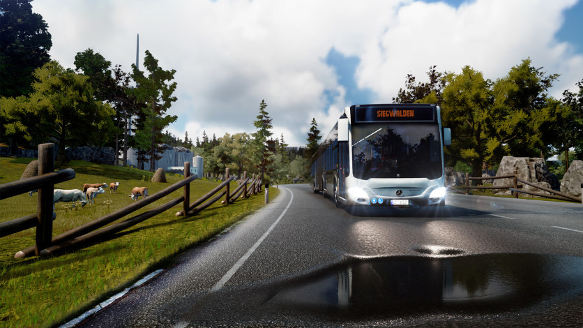 Screenshot 3 - Bus Simulator 18