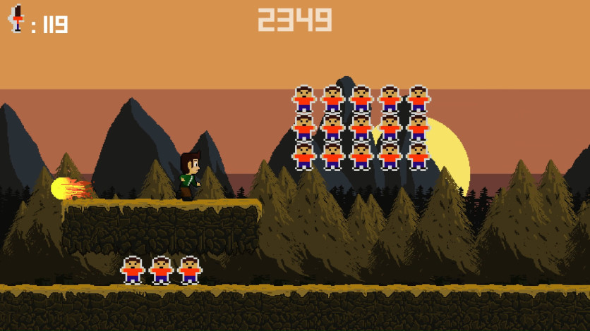 Screenshot 1 - Bighead Runner