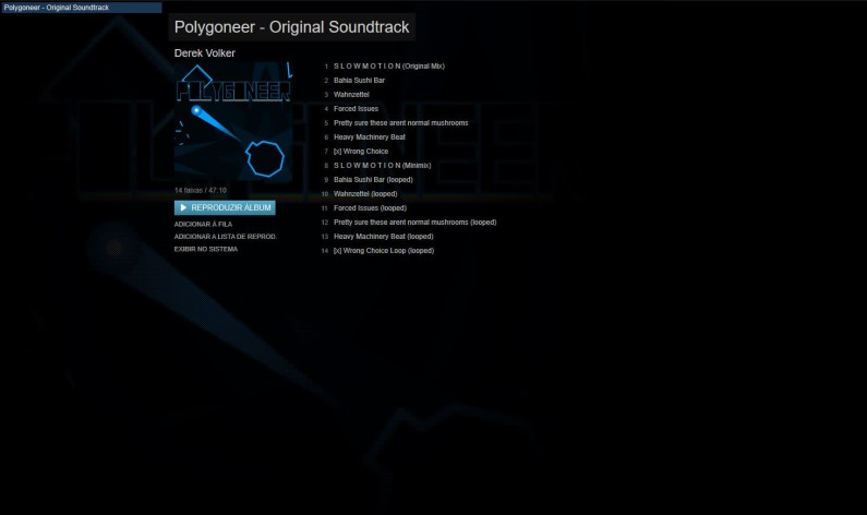 Screenshot 1 - Polygoneer - Soundtrack
