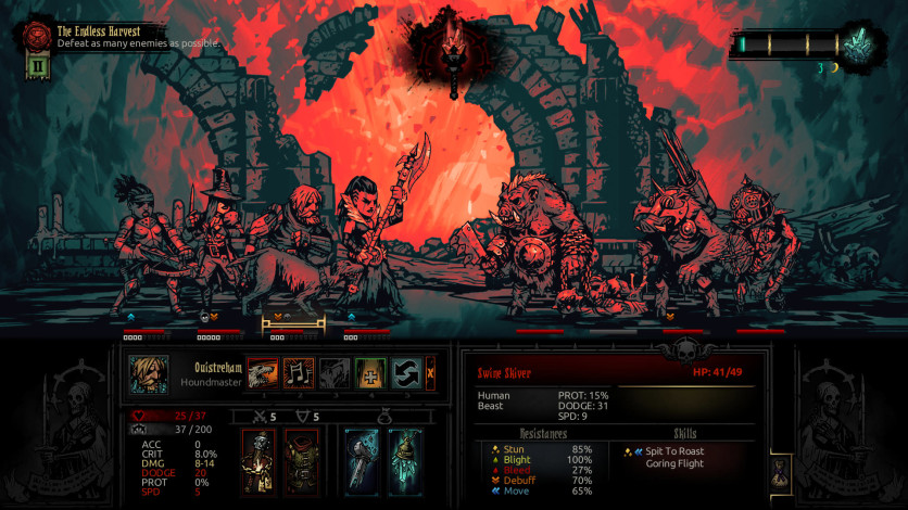 Screenshot 6 - Darkest Dungeon: Color Of Madness