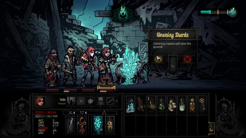 Screenshot 4 - Darkest Dungeon: Color Of Madness