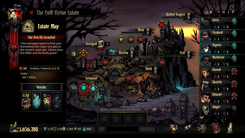 Screenshot 10 - Darkest Dungeon: Color Of Madness