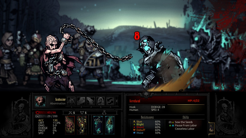 Screenshot 3 - Darkest Dungeon: Color Of Madness