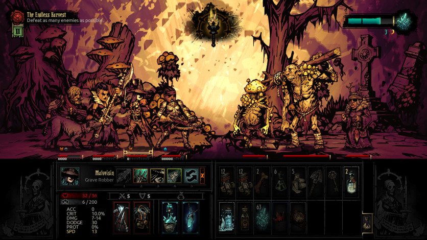Screenshot 5 - Darkest Dungeon: Color Of Madness