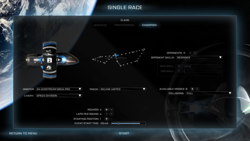 Screenshot 10 - Orbital Racer