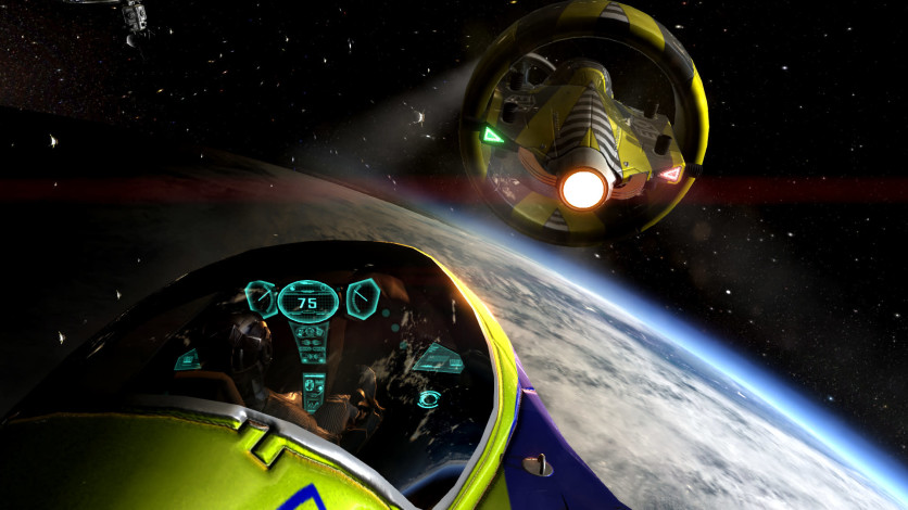 Screenshot 5 - Orbital Racer