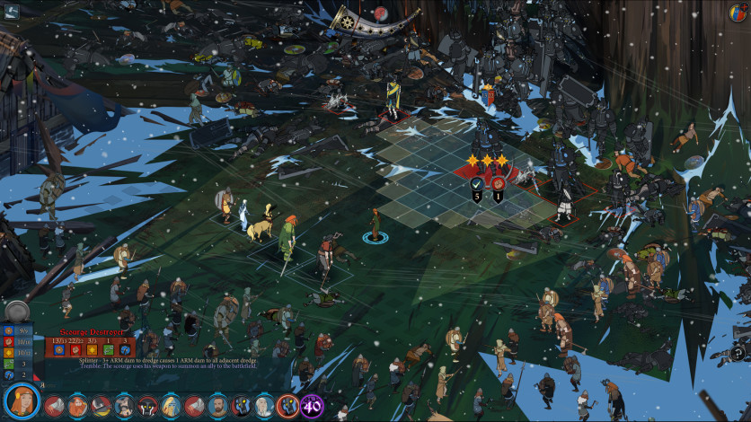 Screenshot 2 - The Banner Saga 3