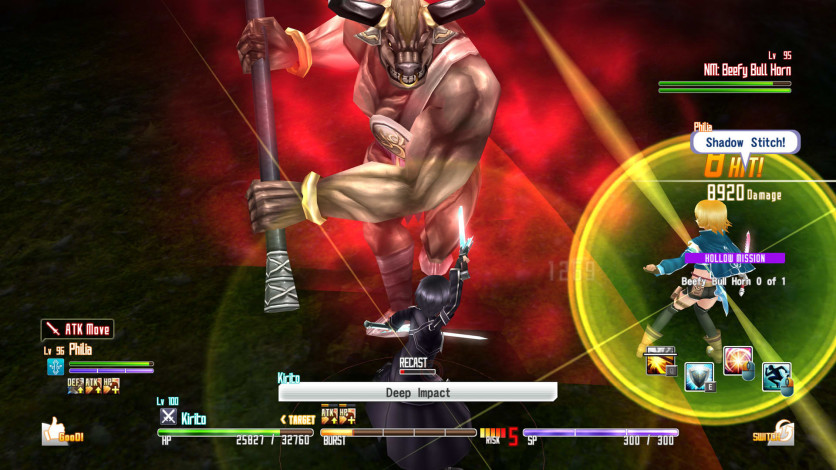 Screenshot 5 - Sword Art Online Re: Hollow Fragment