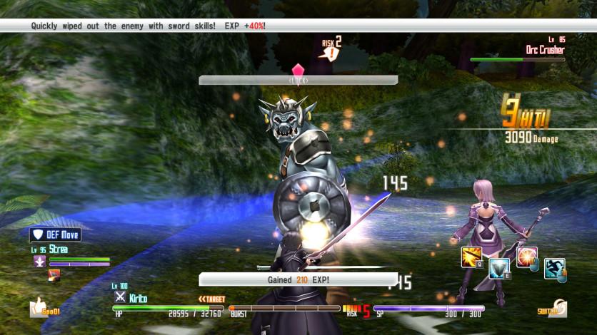 Screenshot 9 - Sword Art Online Re: Hollow Fragment