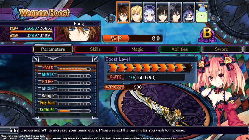Screenshot 10 - Fairy Fencer F - Advent Dark Force