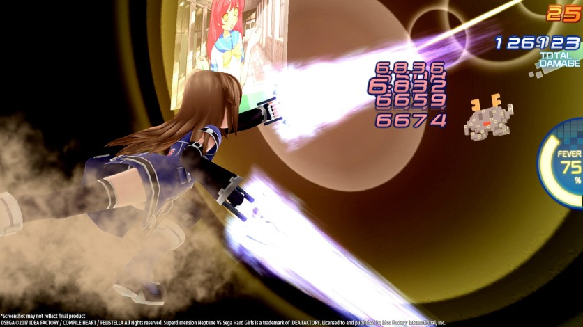 Screenshot 11 - Superdimension Neptune VS Sega Hard Girls
